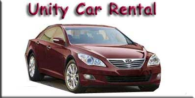 Unity Car Rental Logo
